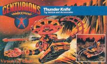 Centurions Thunder Knife packaging