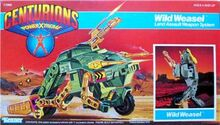 Centurions Wild Weasel packaging