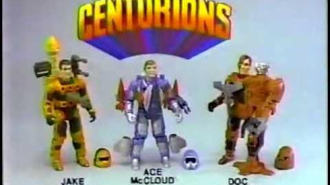 The Centurions - Vintage 1986 Toy Commercial