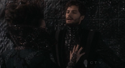 Jamie Dornan as The Huntsman on Once Upon A Time Season One Finale 2