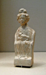 Roman terracotta mother goddess 1