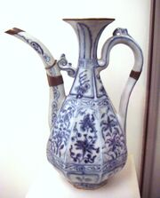 Early blue and white ware circa 1335 Jingdezhen