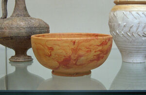 South Gaulish marbled samian cup 1