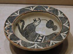 Archaic majolica bowl SMS
