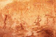 Rock Paintig Twyfelfontein Namibia