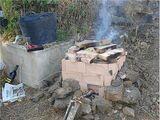 Cocción al carbón