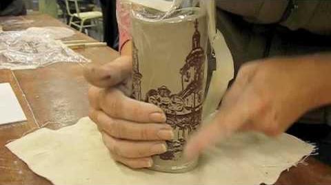 Video Serigrafia Sobre Ceramica Daniel Pereyra