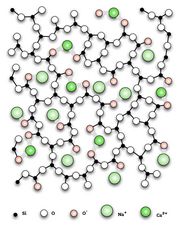 Kalk-Natron-Glas (ohne Stabilisator) 2D