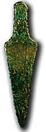 Copper tongue dagger (Bellbeaker)