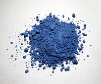 Natural ultramarine pigment