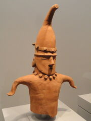 Head and Torso of a Dancing Figure, 5th-7th century AD, Japan, earthenware - Art Institute of Chicago - DSC00105