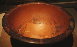 CMOC Treasures of Ancient China exhibit - painted basin (1)