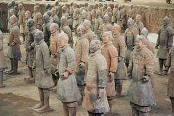 Xian guerreros terracota detalle