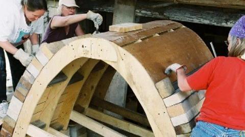 Horno de catenaria