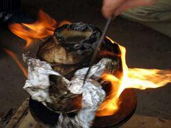 Seminario Gesell quema con soplete10