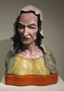 'Mother Dürer', glazed earthenware by Robert Arneson, 1979, Metropolitan Museum of Art