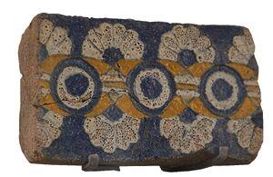 Floral brick Sb 2790