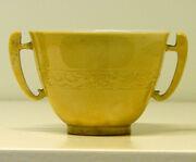 Coupe Jaune impérial Musée Guimet 2418