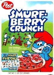 Smurfberry Crunch