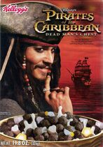 Pirates of the Caribbean Ceral Version 2 front - Johnny Depp