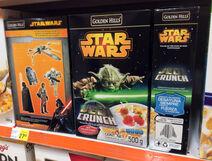 Star wars corn flakes