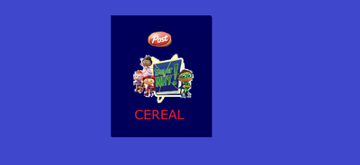 Post Super WHY! Cereal