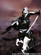 Ceres next wave Forcefield sword and pistol (c) William.S.Frisbee