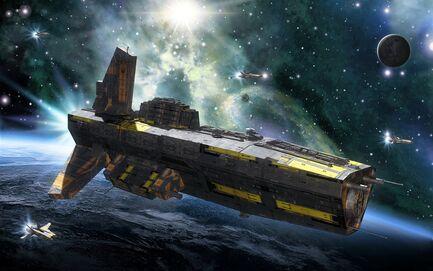 Spaceship-warp-Dreamstime.No.67910390.(c).Luca Oleastri