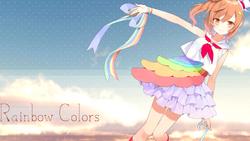 Rainbow Colors - Heart's Cry