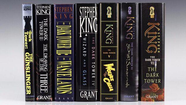 the dark tower books