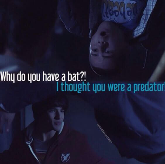 teen wolf why do you have a bat meme