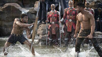 'Black Panther': The Makeup Magic Behind Killmonger's Look