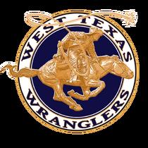 Westtexaswranglers bluelogo