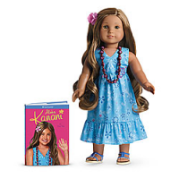American Girl Of The Year 2011 Kanani Beach Outfit Swimsuit ONLY Retired