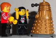 Surrendering to a Dalek