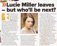 Lucie Miller leaves but who'll be next
