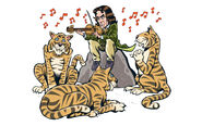 The Year of the Intelligent Tigers comic preview