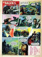 July 1965 TV 21 Daleks comic page