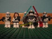 Clone Gunner Commander Jedi's Sqaudron