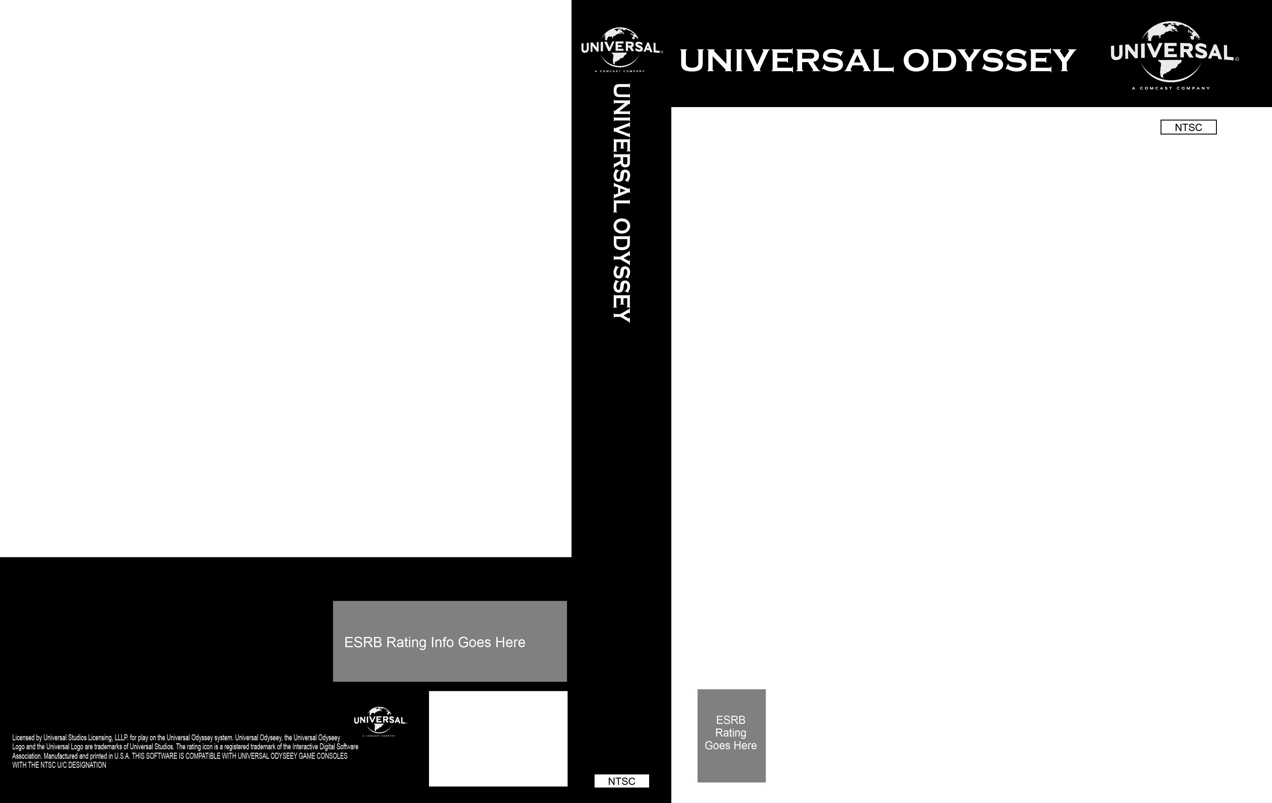 Image Universal Odyssey 2012 present Game Cover Template
