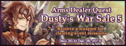 Dusty's War Sale 5