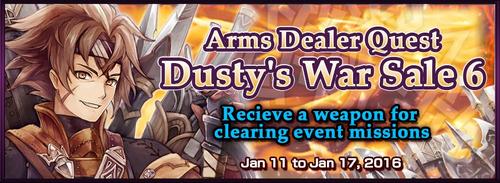 Dusty's War Sale 6