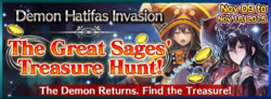 The Great Sage's Treasure Hunt