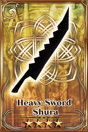 Heavy Sword Shura