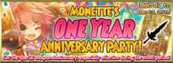Monette's One Year Anniversary Party!