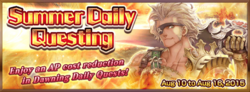 Summer Daily Questing