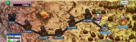 黒ノ砦奪還作戦地圖