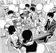 The group goes out to drink together