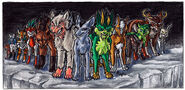 Jackal and the 12 Zodiac Demons