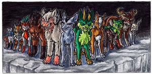 Jackal and the 12 Zodiac Demons